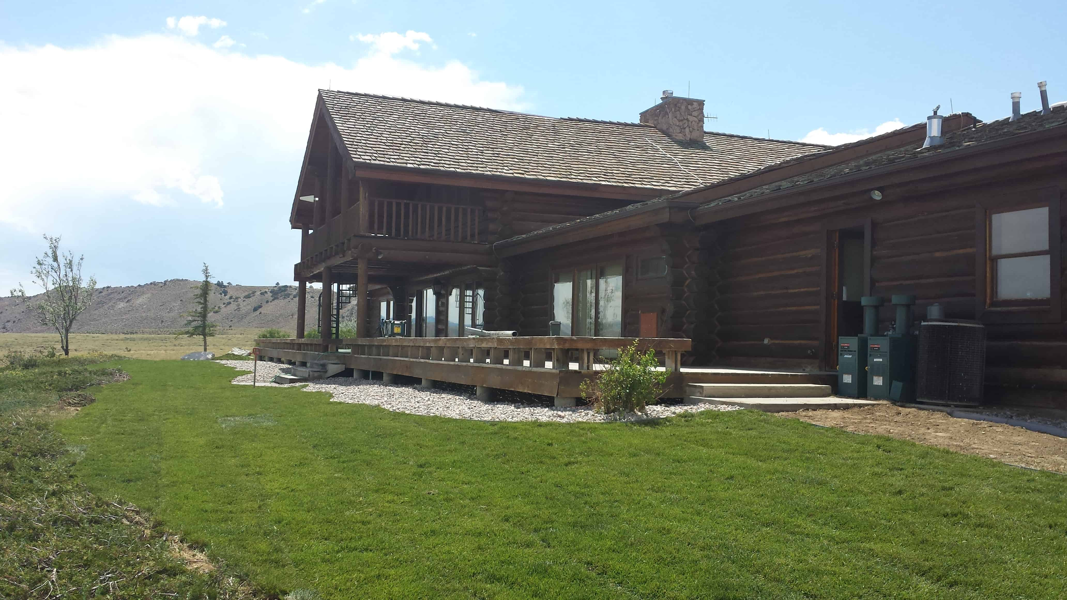 Residential Landscaping in Laramie, WY